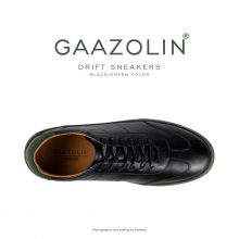 کتانی دریفت گازولین مشکی سبز - GAAZOLIN Drift Sneakers Black Green Color