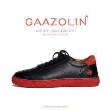 کتانی دریفت گازولین مشکی قرمز - GAAZOLIN Drift Sneakers Black Red Color