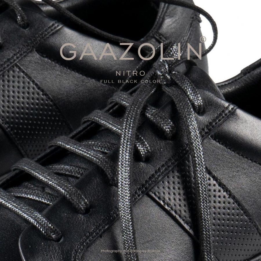 کتانی نیتروژن گازولین تمام مشکی – GAAZOLIN Nitro Full Black