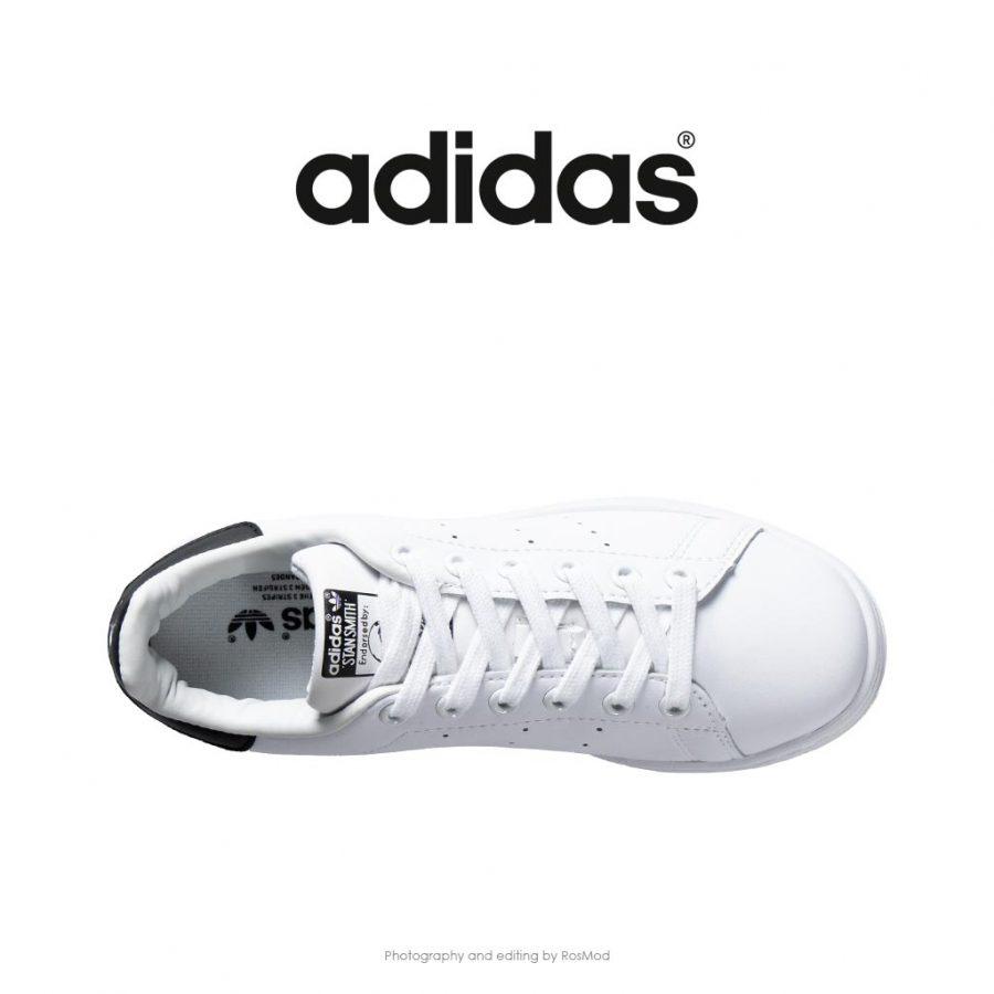 کتانی آدیداس استن اسمیت سفید مشکی – Adidas Stan Smith Cloud White Black