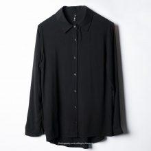 شومیز نخی زنانه زره مشکی -Zere Women Shirt Black