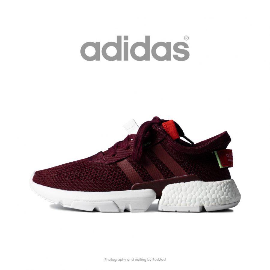 رانینگ آدیداس زنانه زرشکی تیره – Adidas POD S3.1 Burgundy