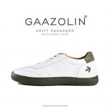 کتانی دریفت گازولین سفید سبز - GAAZOLIN Drift Sneakers White Green Color