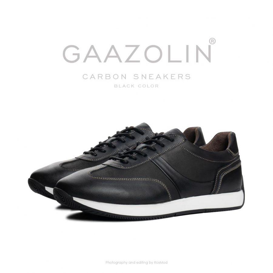کتانی کربن گازولین مشکی – GAAZOLIN Carbon Sneakers Black