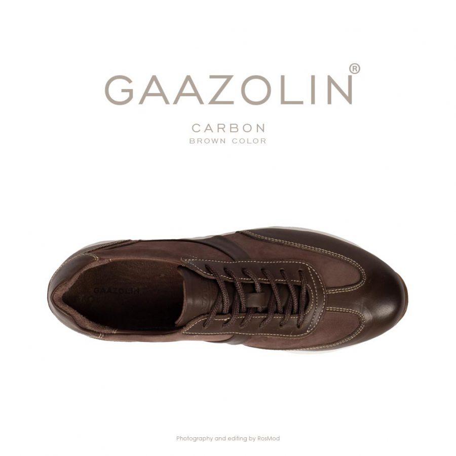 کتانی کربن گازولین شکلاتی – GAAZOLIN Carbon Sneakers Brown