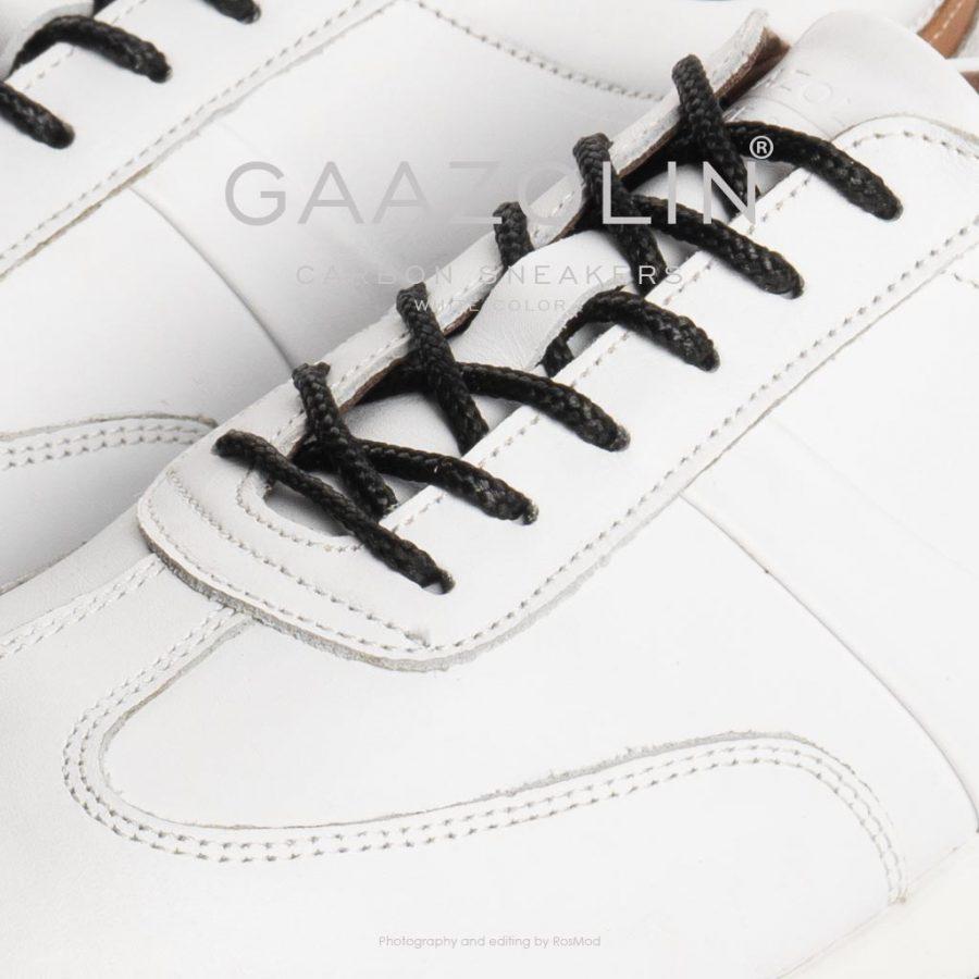 کتانی کربن گازولین سفید – GAAZOLIN Carbon Sneakers White