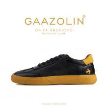 کتانی دریفت گازولین مشکی زرد - GAAZOLIN Drift Sneakers Black Yellow Color