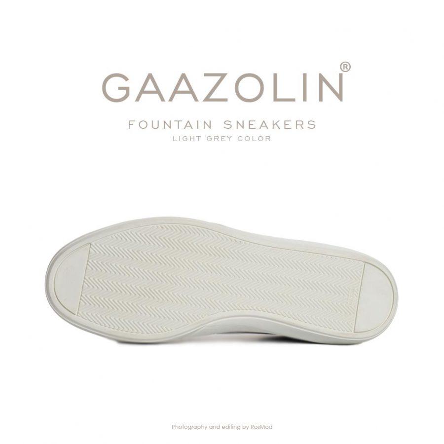 کتانی فانتین گازولین طوسی روشن – GAAZOLIN Fountain Sneakers Light Grey