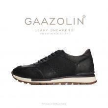 کتانی لیکی گازولین مشکی گریسی - GAAZOLIN Leaky Sneakers Greasy Black