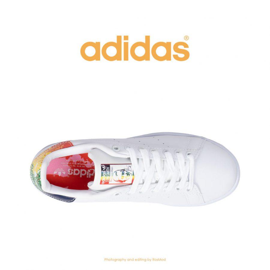 کتانی آدیداس استن اسمیت سفید مولتی کالر – Adidas Stan Smith White Multi