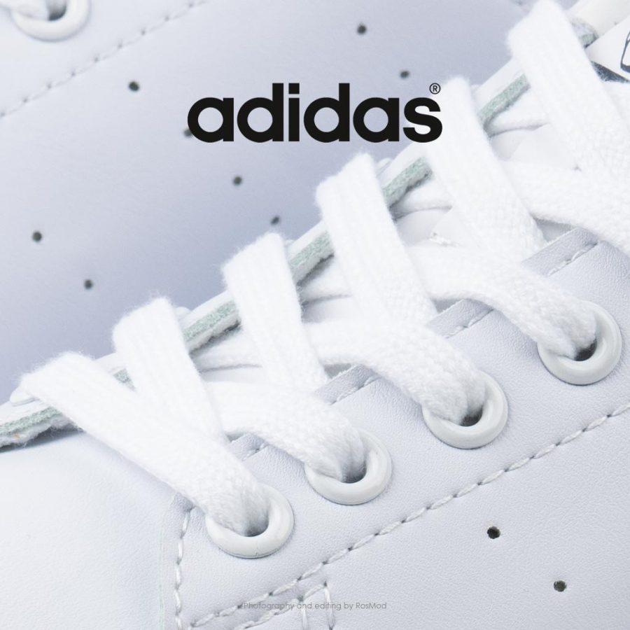 کتانی آدیداس استن اسمیت سفید سرمه ای – Adidas Stan Smith Cloud White Navy