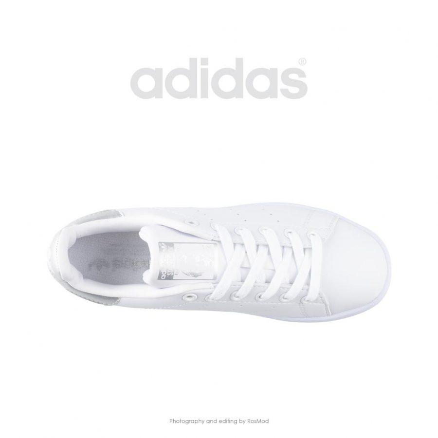 کتانی آدیداس استن اسمیت سفید نقره ای – Adidas Stan Smith White Metallic Silver