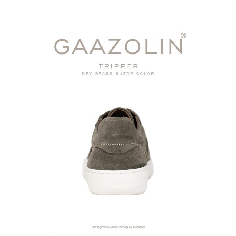 کتانی تریپر گازولین زیتونی – GAAZOLIN Tripper Sneakers Dry Grass Suede
