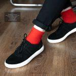 کتانی تریپر گازولین مشکی – GAAZOLIN Tripper Sneakers Smooth Shadow Suede