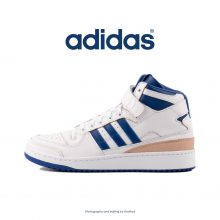کتانی آدیداس ساقدار سفید رویال - Adidas Forum Mid White Royal
