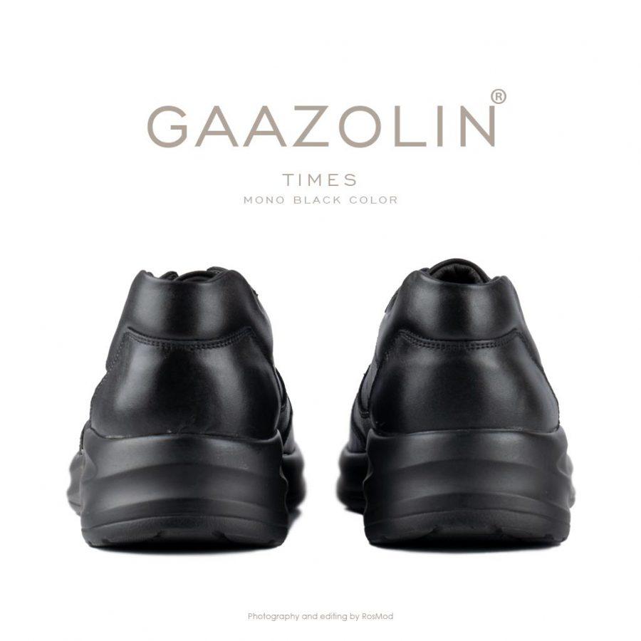 کتانی تایمز گازولین تمام مشکی – GAAZOLIN Times Sneakers Mono Black