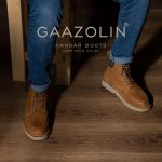 بوت هانگر گازولین دارک گلد – GAAZOLIN Hangar Boots Dark Gold