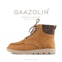 بوت هانگر گازولین دارک گلد - GAAZOLIN Hangar Boots Dark Gold