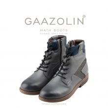 بوت مت گازولین طوسی روشن - GAAZOLIN Math Boots Formal Grey