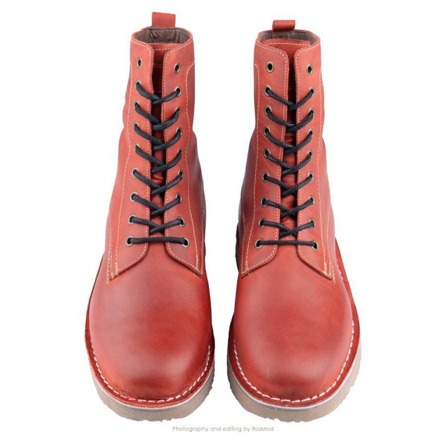 بوت پارتیزان گازولین آلبالویی – GAAZOLIN Partisan Boots Cherry Militia