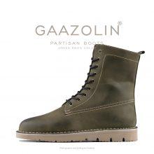بوت پارتیزان گازولین یشمی - GAAZOLIN Partisan Boots Green Knife