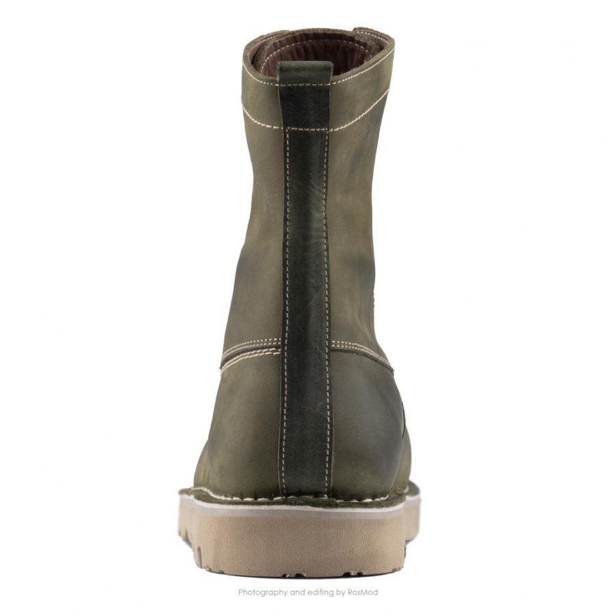 بوت پارتیزان گازولین یشمی – GAAZOLIN Partisan Boots Green Knife