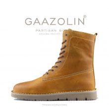 بوت پارتیزان گازولین خردلی - GAAZOLIN Partisan Boots Ground Troops