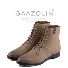 بوت ویکتورین گازولین کرم - GAAZOLIN Victorian Boots Sweet Cream