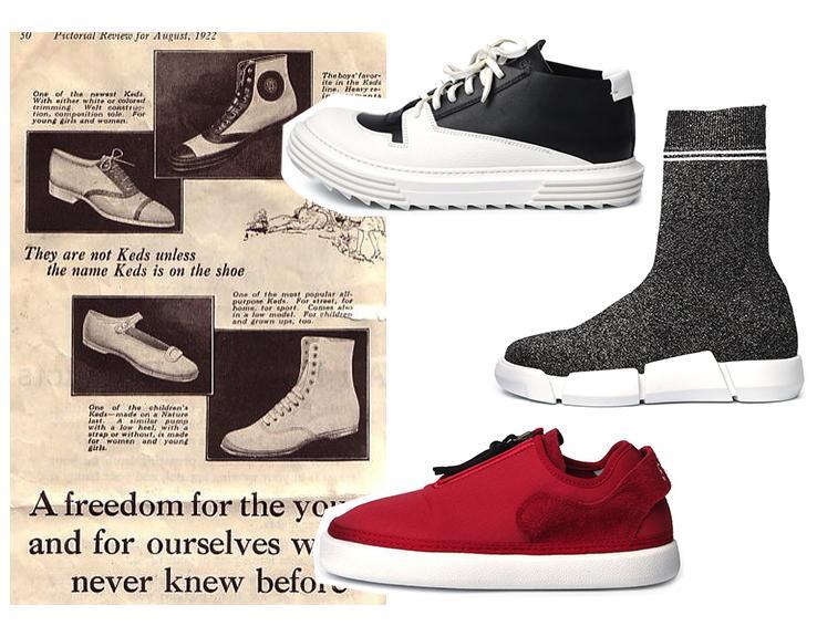 تاریخچه کفش : مدلهای وای-۳[32]، النا لاچی[33] و آرتزلب[34]