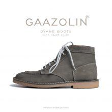 بوت ژیان گازولین دودی تیره - GAAZOLIN Dyane Boots Dark Major