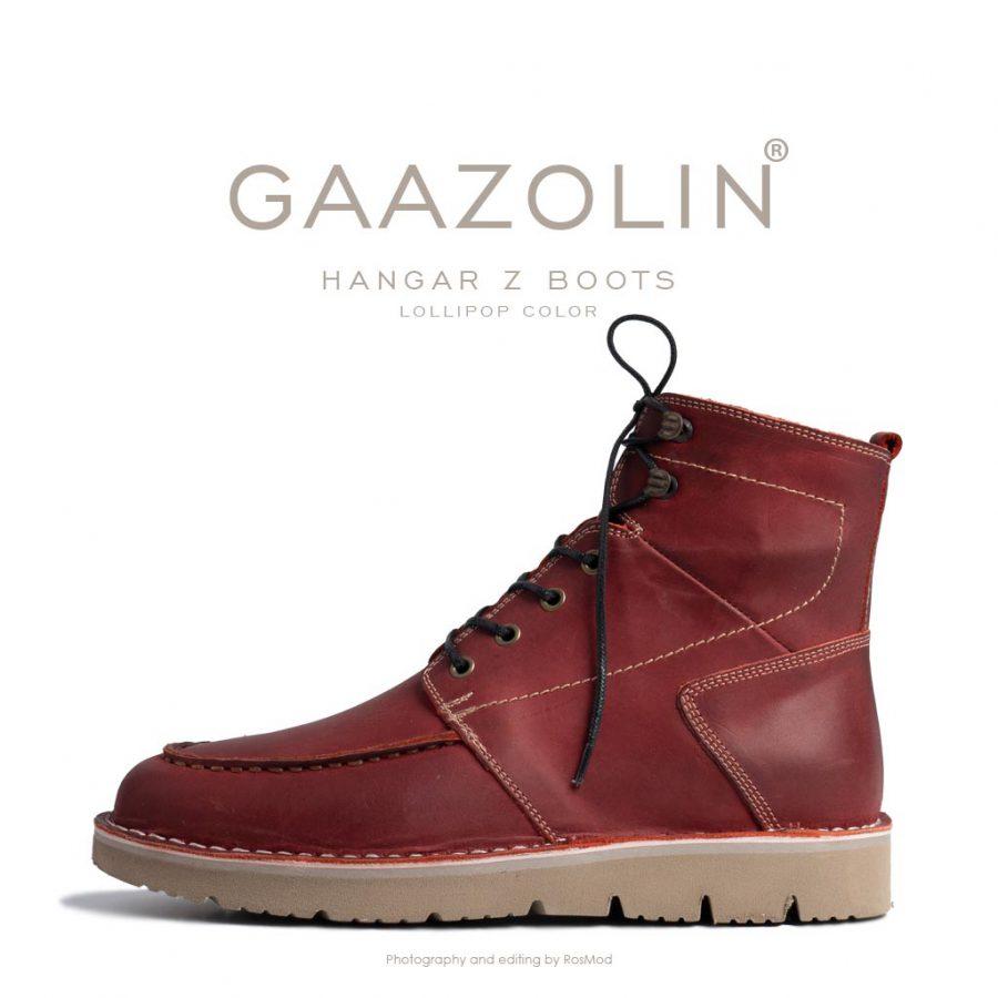 بوت هانگر زد گازولین زرشکی – GAAZOLIN Hangar Z Boots Lollipop